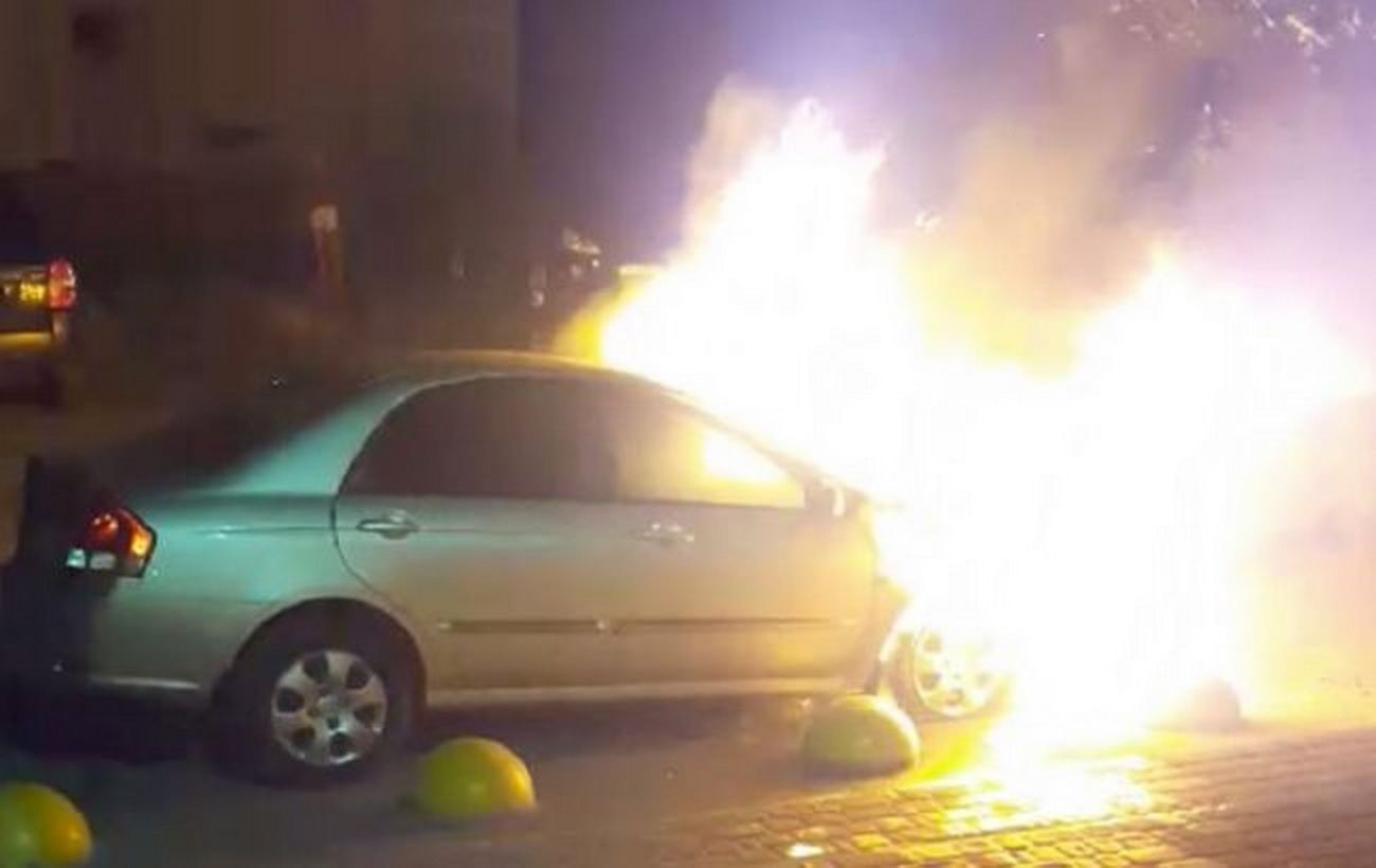 Суд арестовал подозреваемого в поджоге автомобиля
