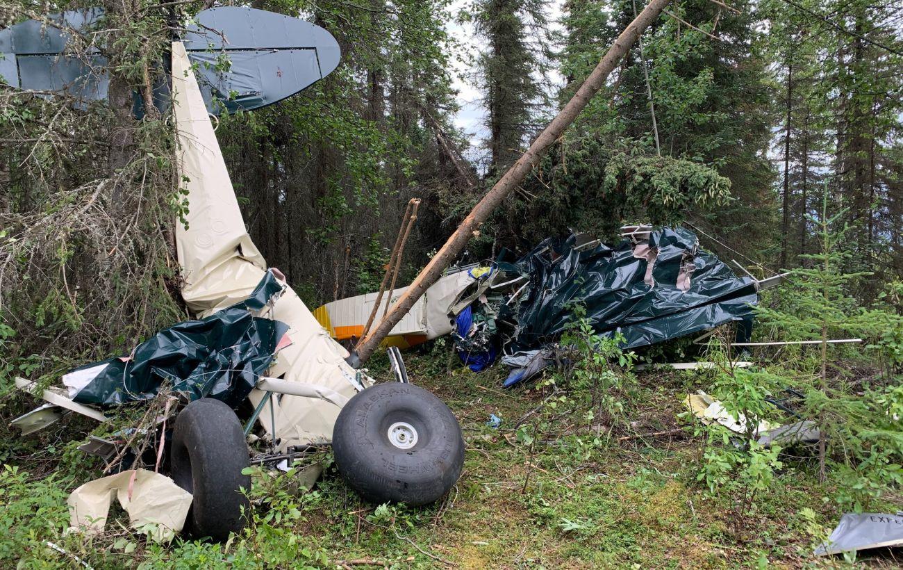 В небе над Аляской столкнулись два самолета, есть жертвы