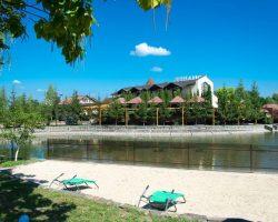 Обширный ресторанно-отельный комплекс для отдыха и празднования важных событий