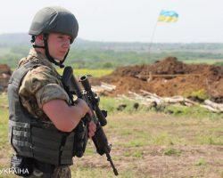 На Донбассе боевики три раза нарушили перемирие