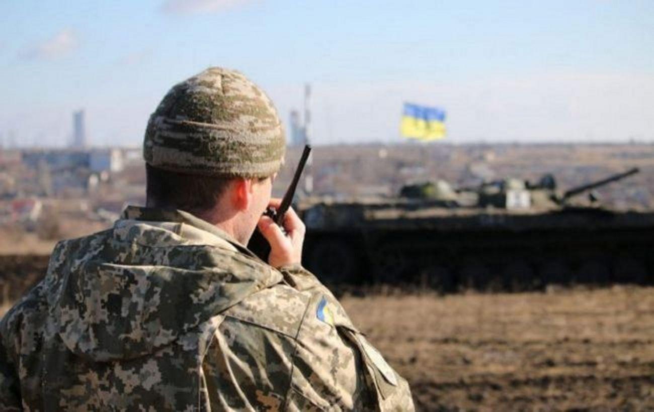 На Донбассе боевики дважды нарушили перемирие