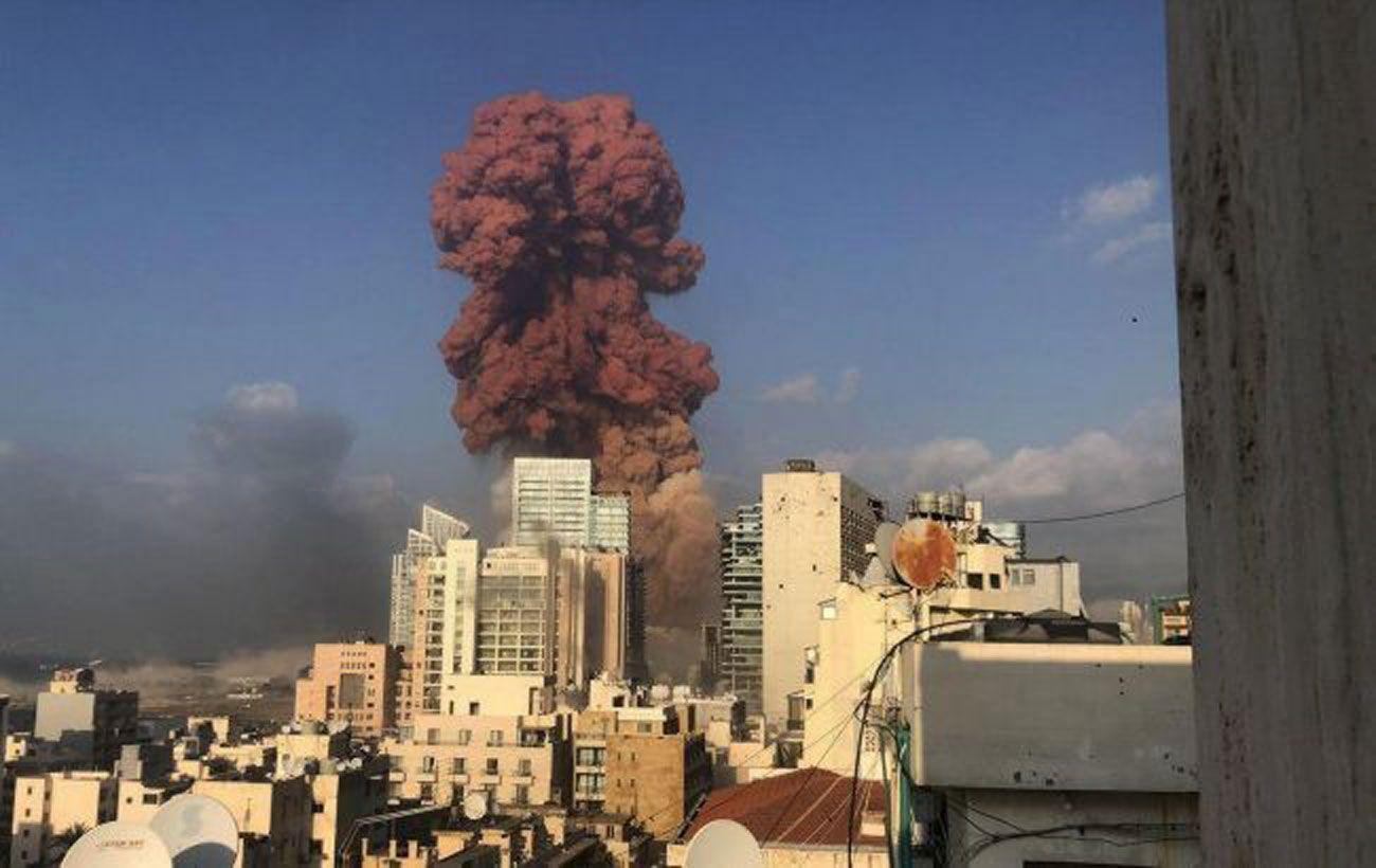 В порту Бейрута обнаружили 79 контейнеров с химикатами