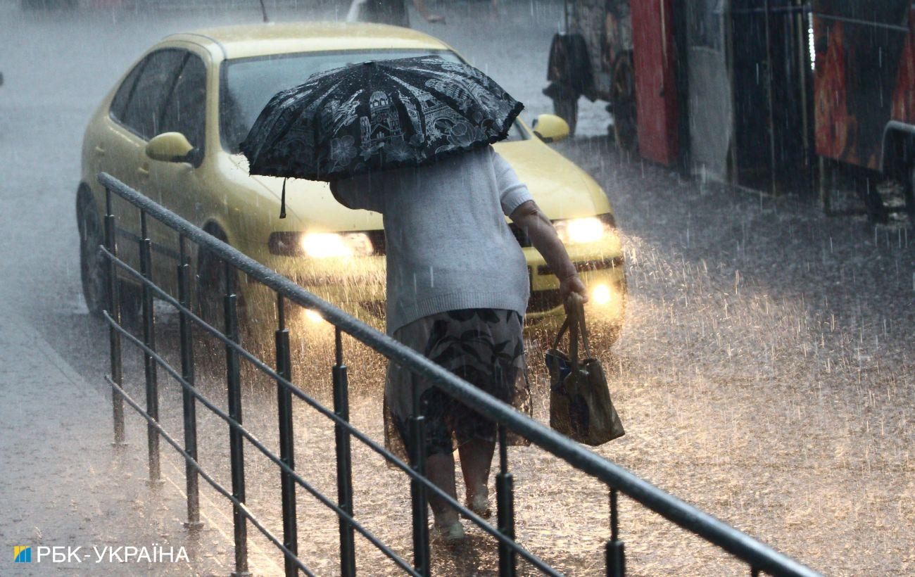 Сегодня в Украине ожидаются дожди и грозы