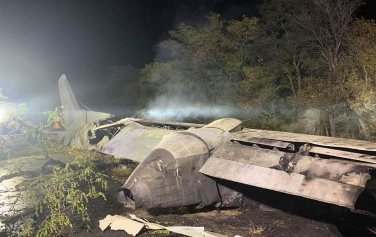 Из-за авиакатастрофы Ан-26 на дороге под ее Харьковом затруднено движение