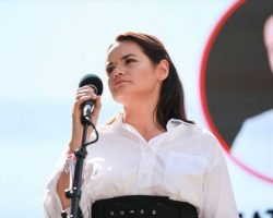 Тихановская заявила, что видит Францию в роли посредника