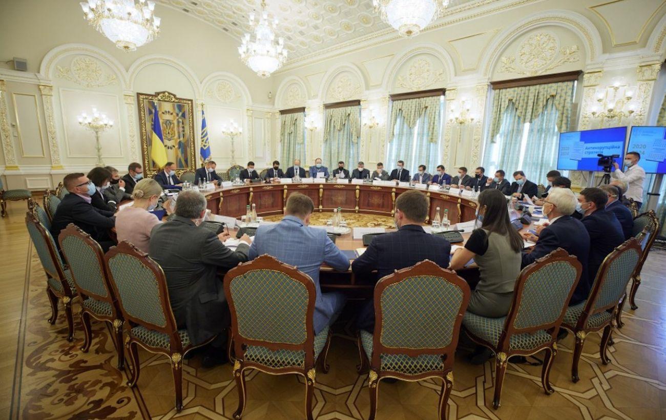 Зеленский призвал Раду скорее утвердить антикоррупционную стратегию