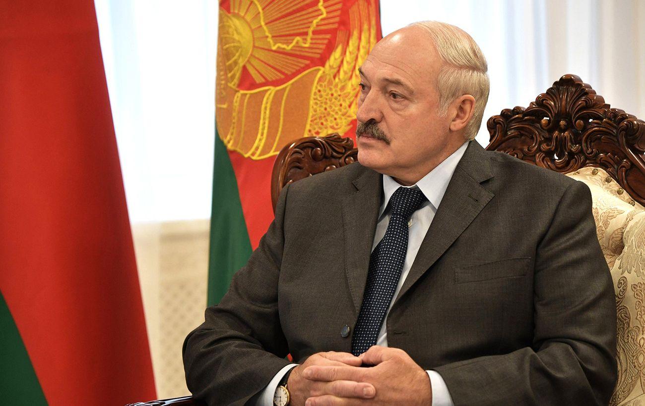 Лукашенко во время инаугурации:
