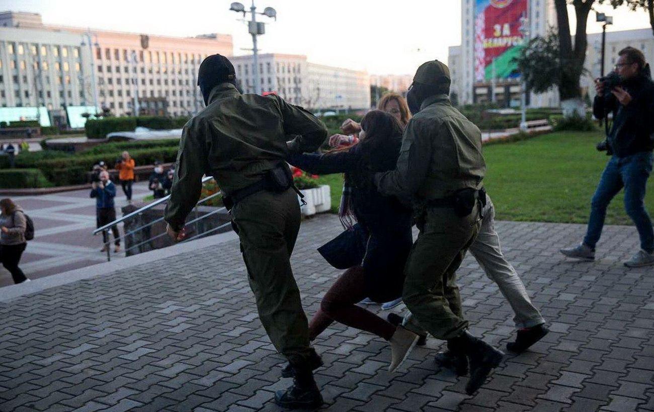 На протестах в Беларуси задержали еще более 30 человек
