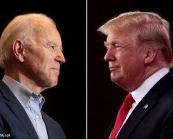 Стартовали первые предвыборные дебаты Трампа и Байдена