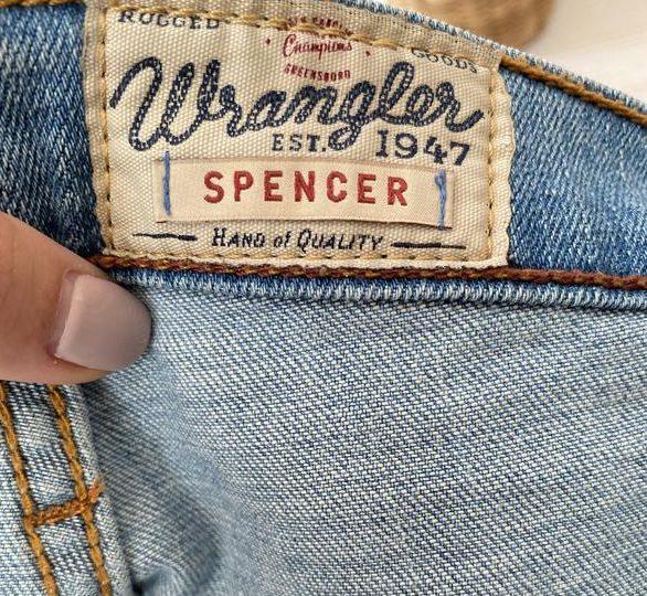 Фирменные джинсы Wrangler для любителей классики