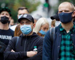 В Болгарии ввели обязательное ношение масок на улице