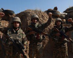 Азербайджан занял новые позиции в Нагорном Карабахе