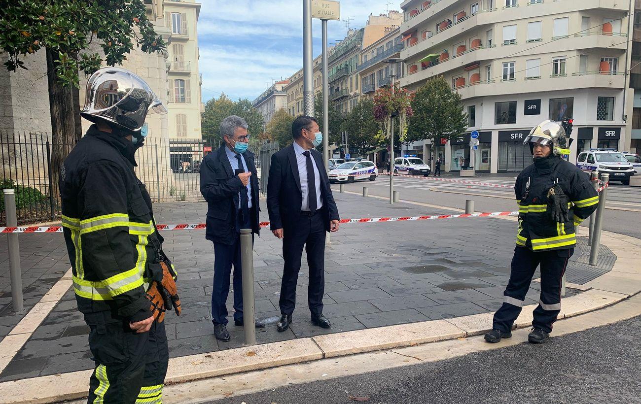 Исполнителя теракта в Ницце задержали