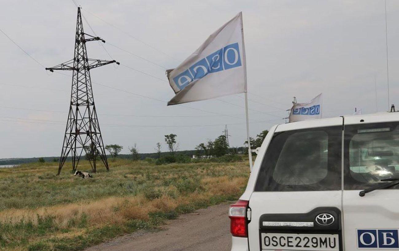 В ОБСЕ отметили сохранение режима прекращения огня на Донбассе