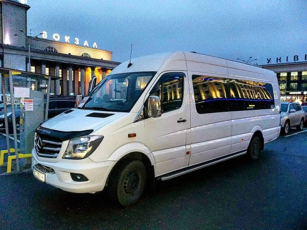 Заказать автобус в Днепр из Киева
