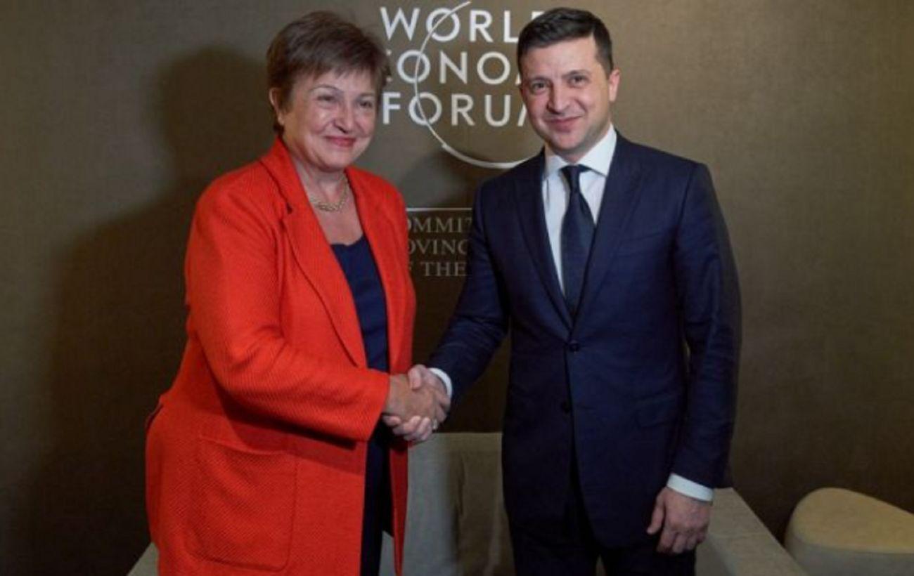 Зеленский обсудил с главой МВФ приезд миссии фонда в Украину