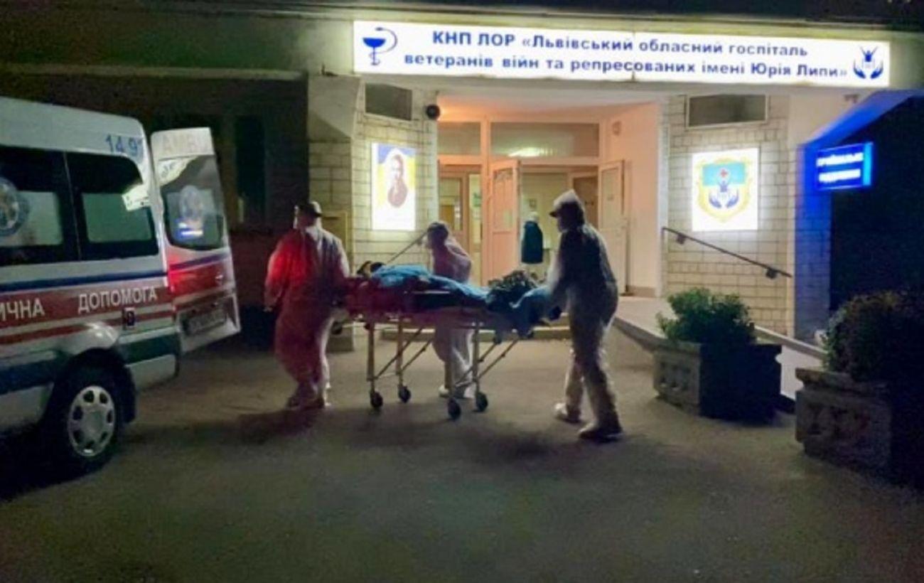 Взрыв кислорода в Винниках: пациентов из госпиталя эвакуировали