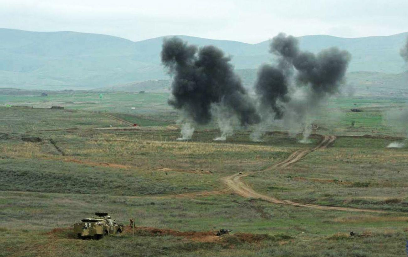 Армения и Азербайджан ведут бои в районе Шуши