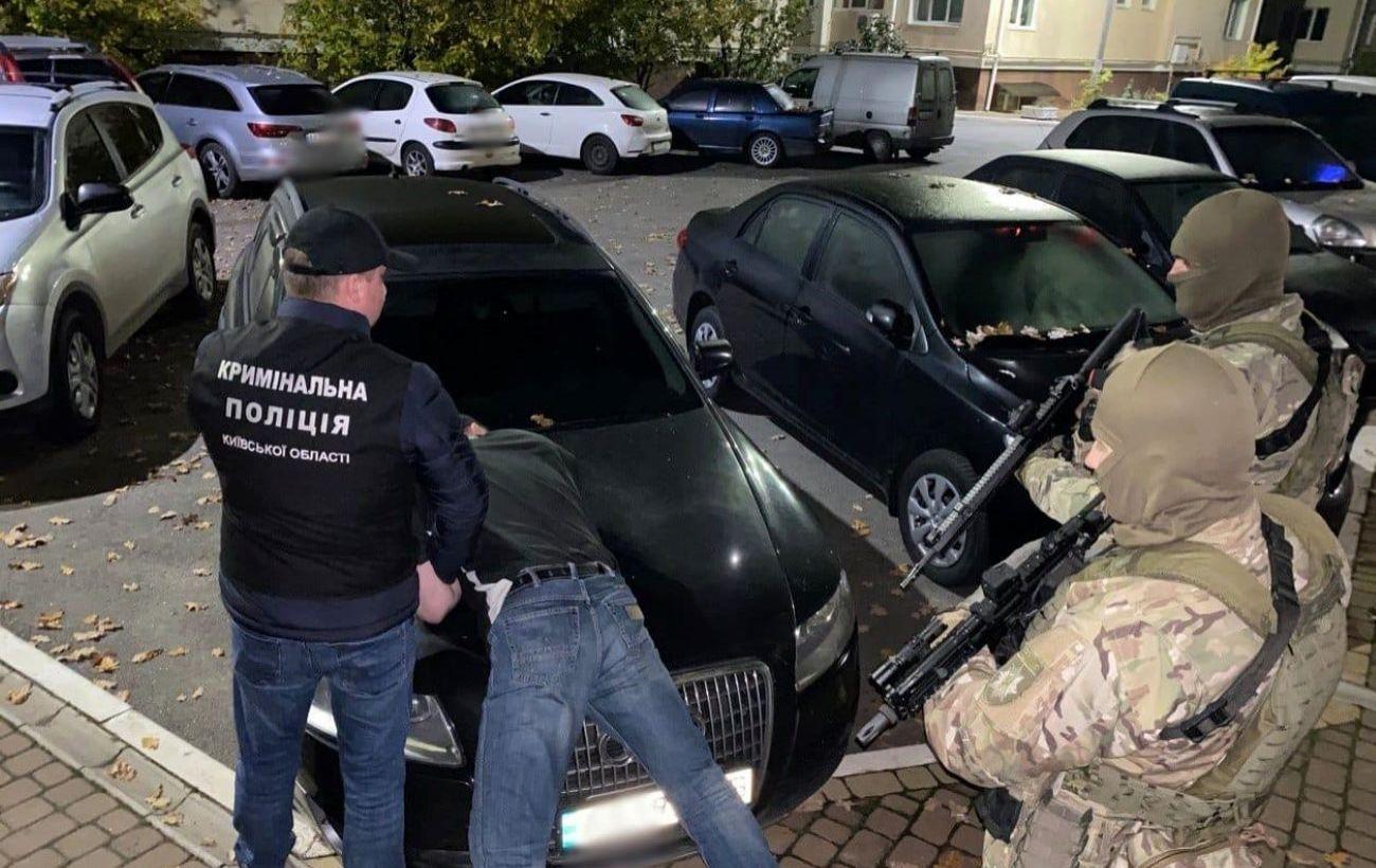 В Киевской области задержали похитителей, требовавших у бизнесмена 2 млн долларов
