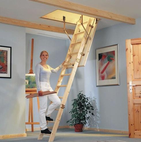 Чердачные лестницы по доступной цене
