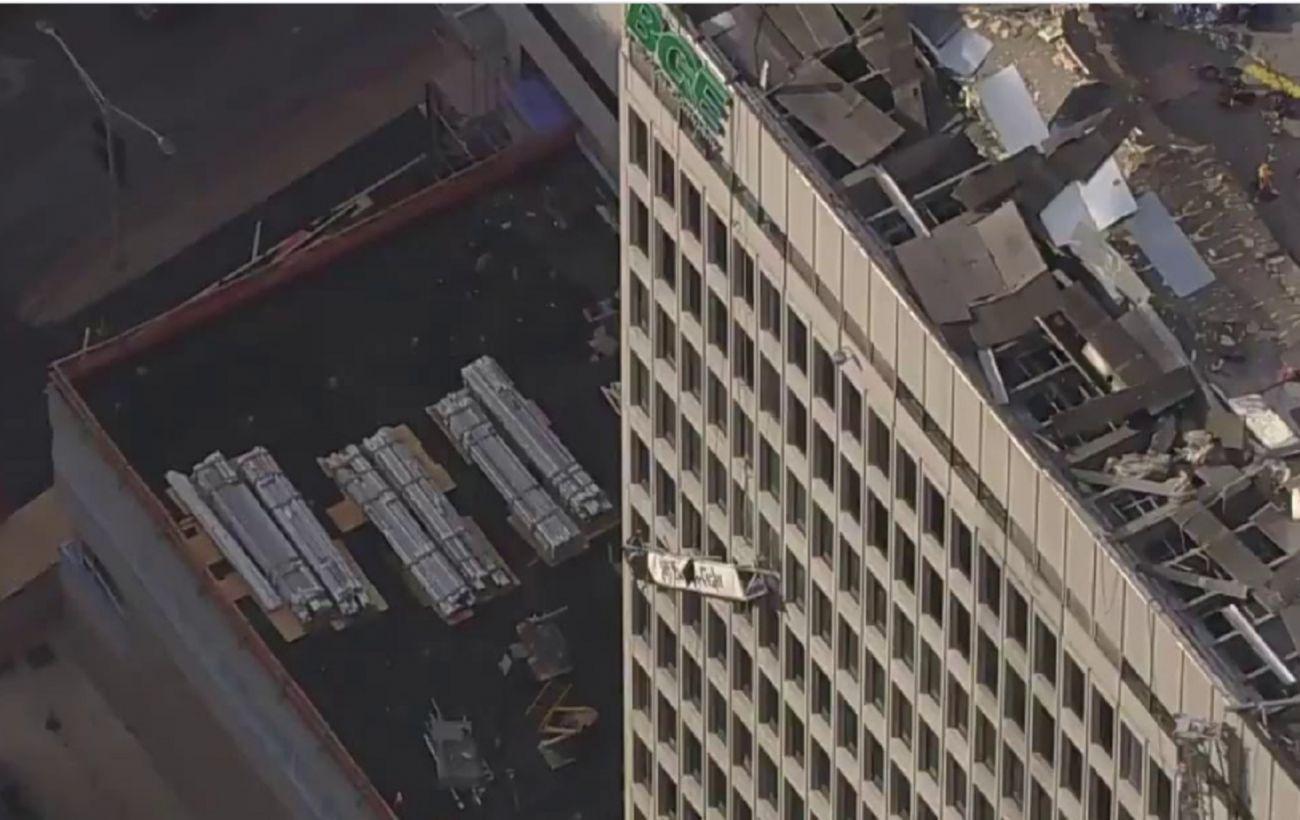 Число пострадавших от взрыва в Балтиморе возросло вдвое
