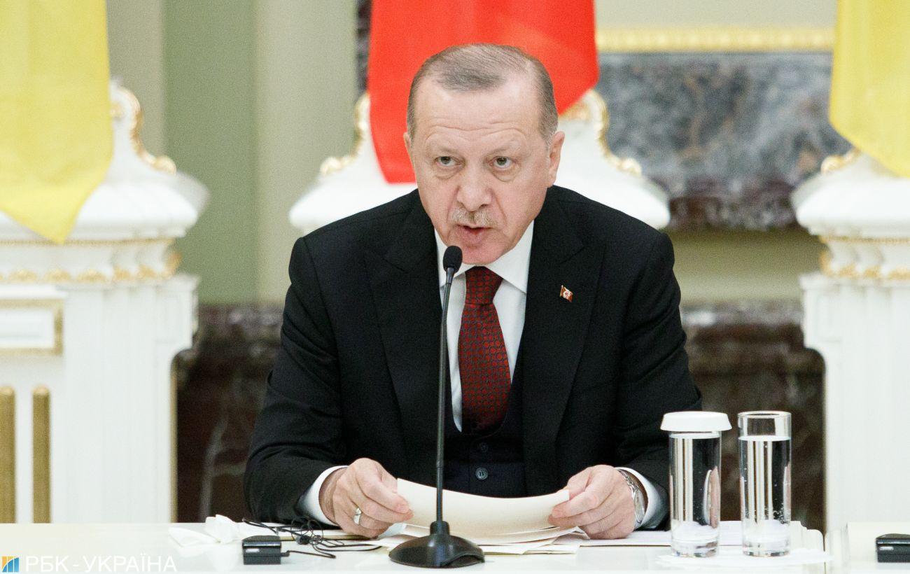 Эрдоган заявил, что готов к переговорам с ЕС на фоне конфликта в Средиземноморье