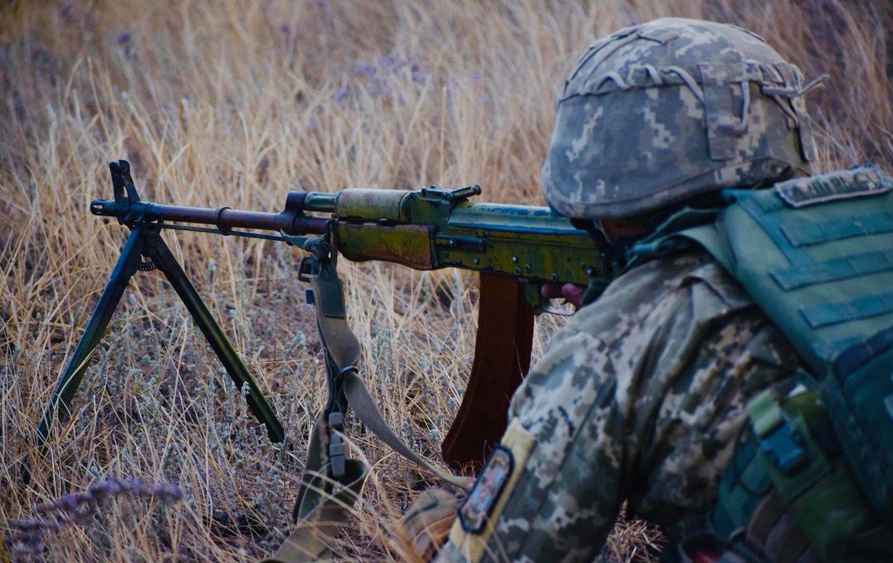 В День ВСУ на Донбассе сохранялась