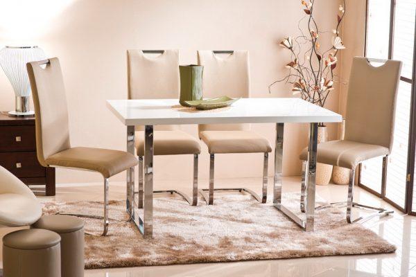 Элегантные хромированные ножки для стола — выбор со вкусом
