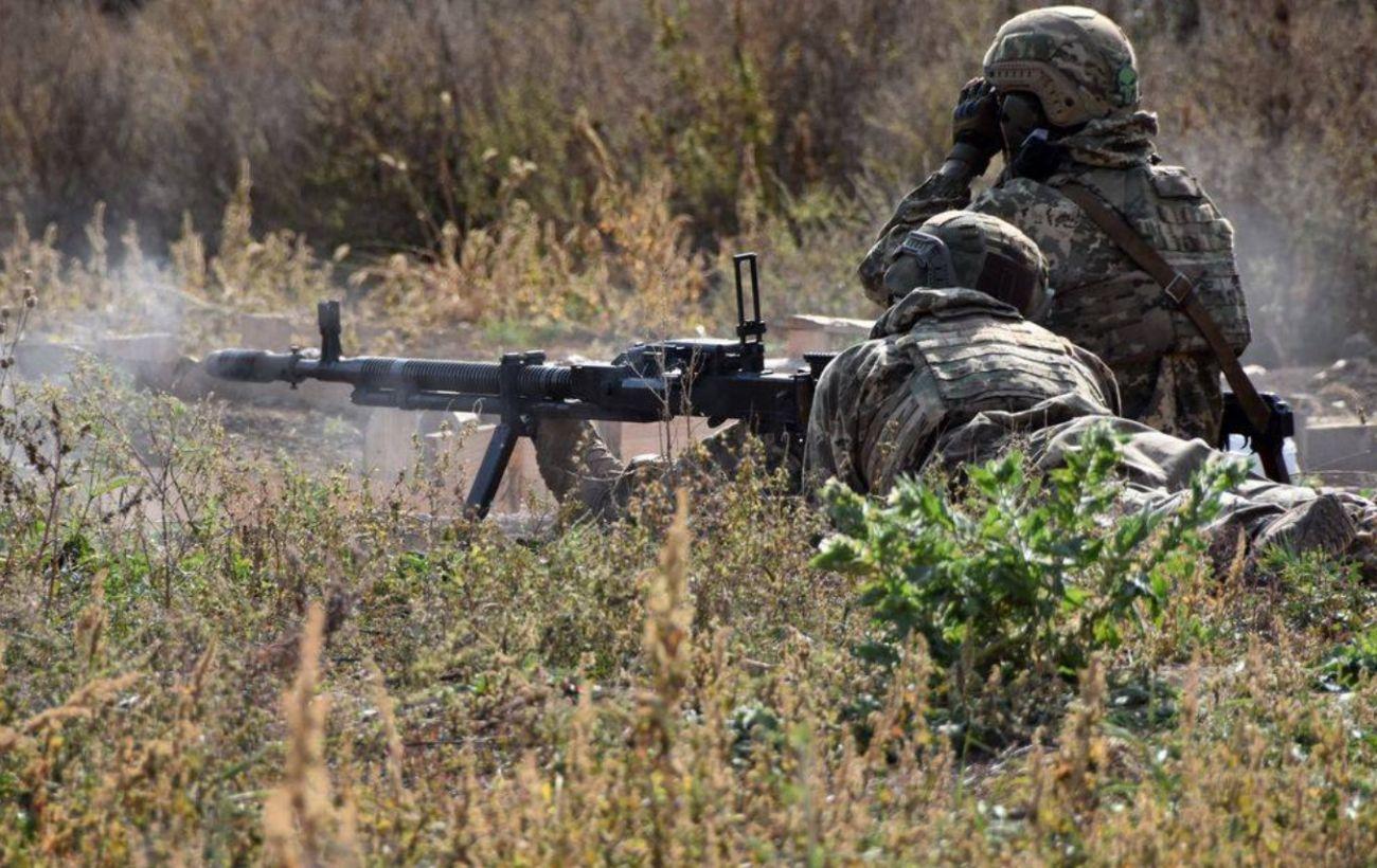 Боевики четыре раза открывали огонь по украинским позициям на Донбассе