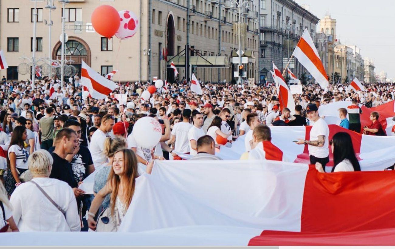 Оппозиция Беларуси создает