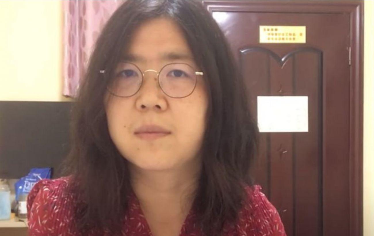 В Китае четыре года тюрьмы дали журналистке за репортажи о кризисе в Ухане