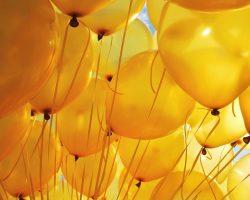 Большой выбор воздушных шаров разных форм