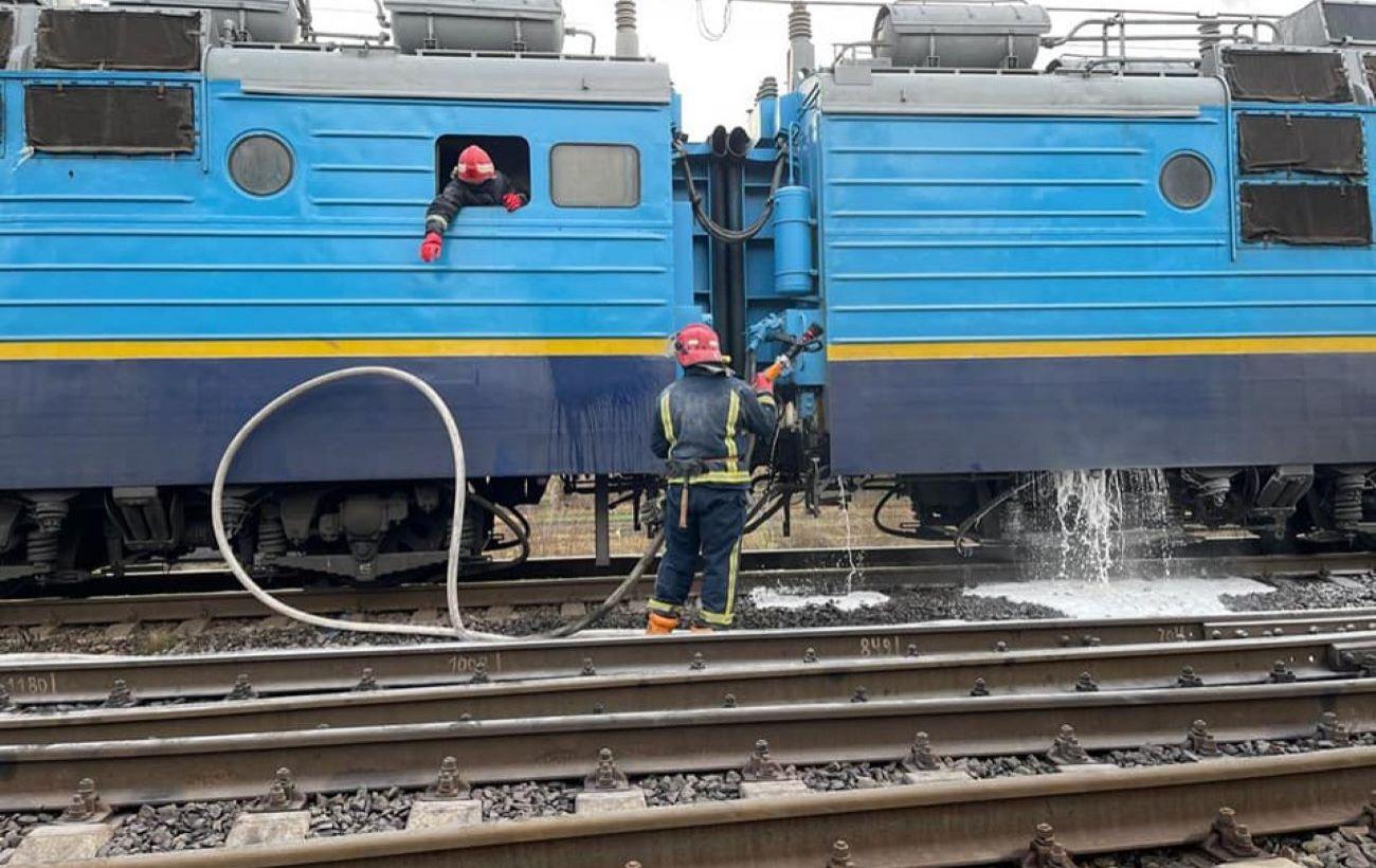 В Ровненской области на ходу загорелся поезд с более чем 250 людьми