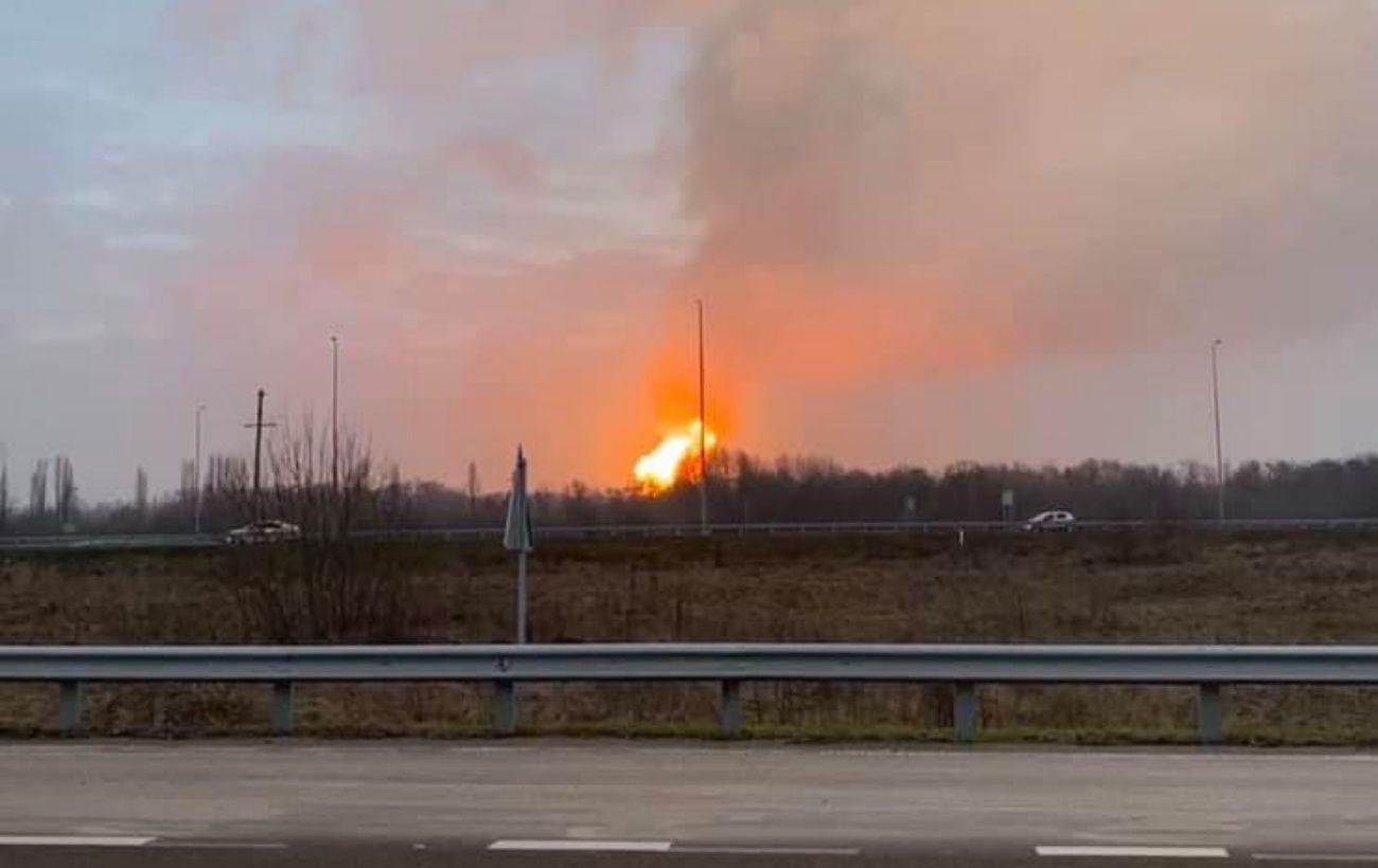 Из-за взрыва под Лубнами от газа отключили часть района