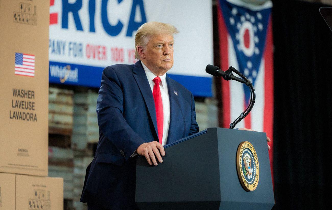 Трамп призвал американцев не прибегать к насилию