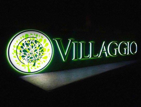 Вывеска Villaggio