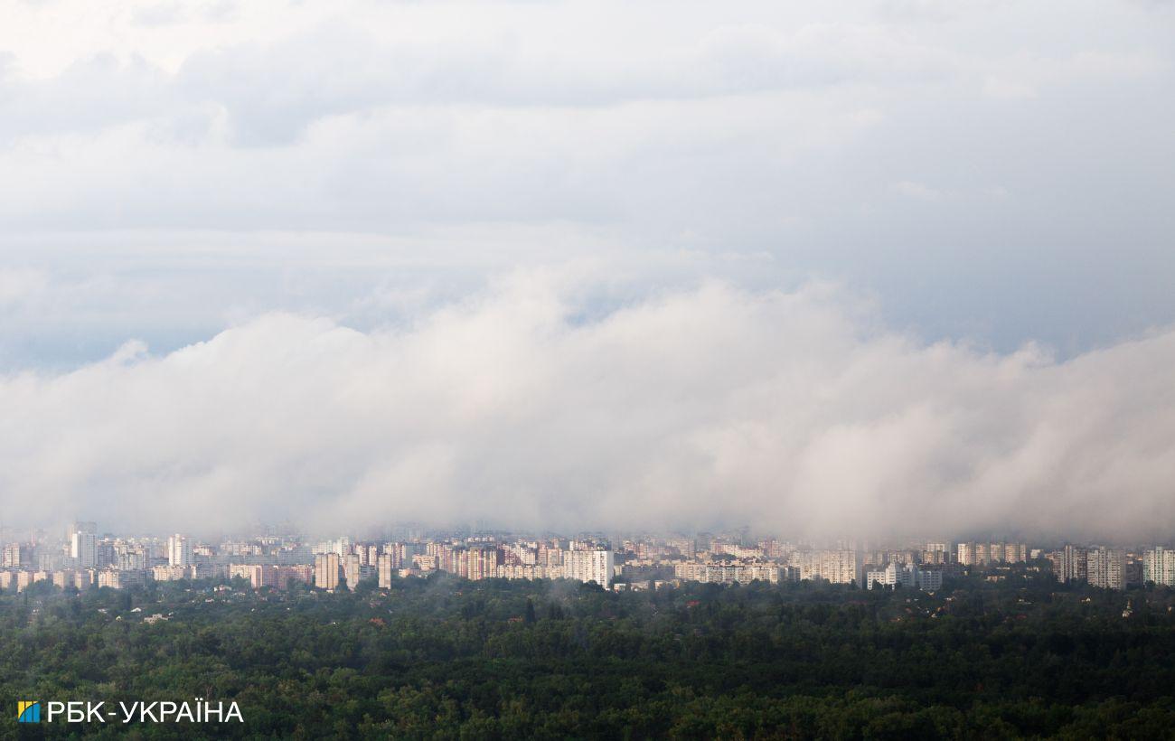 Столичных водителей предупредили об ограниченной видимости из-за тумана