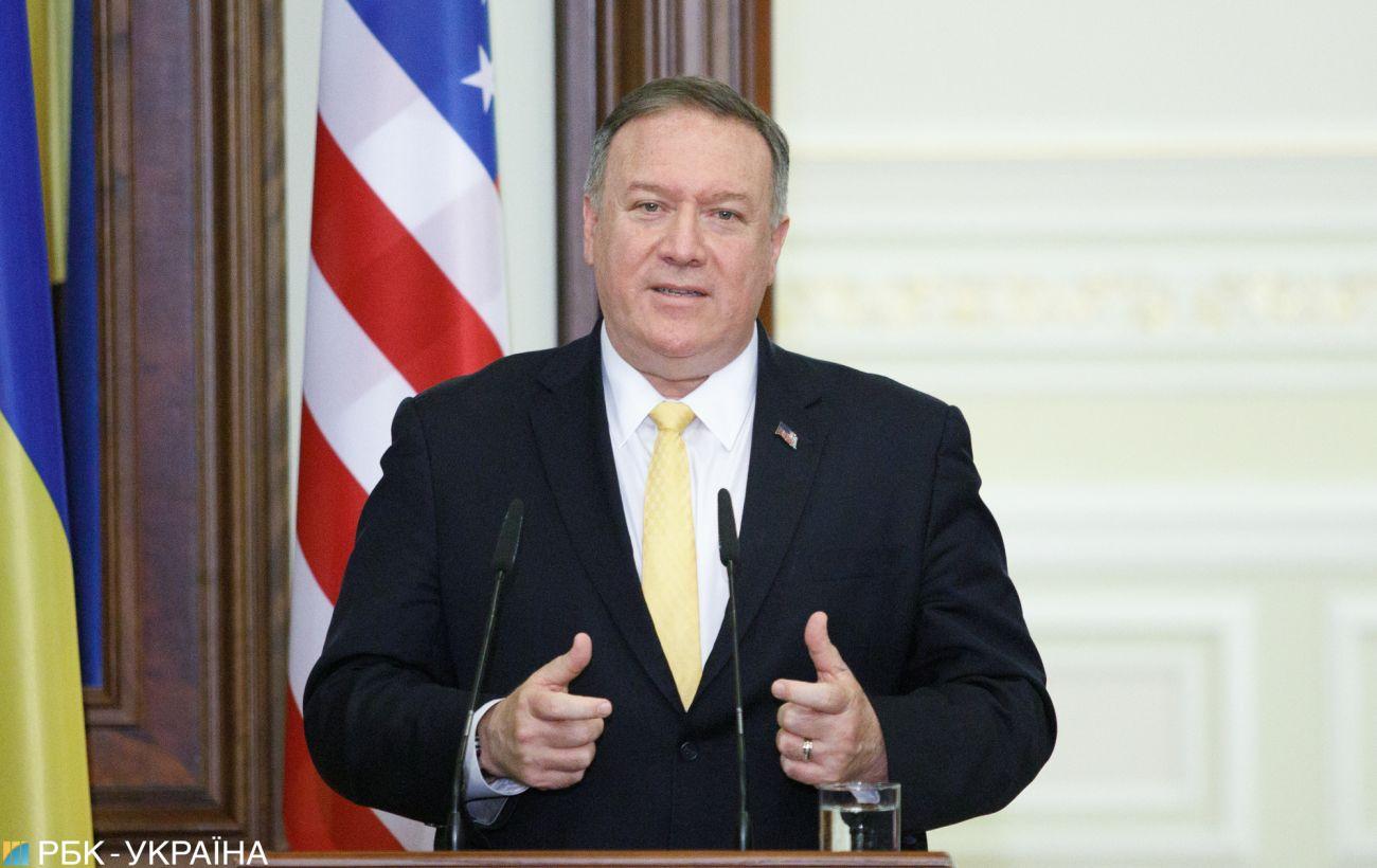 Помпео: хотелось бы, чтобы США добились большего прогресса в Украине