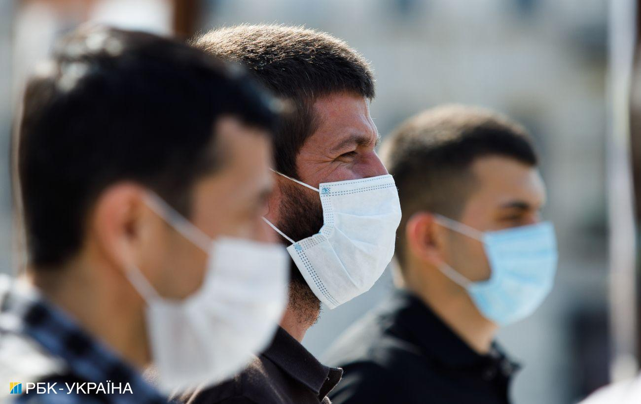 В Украине 5334 новых случая коронавируса