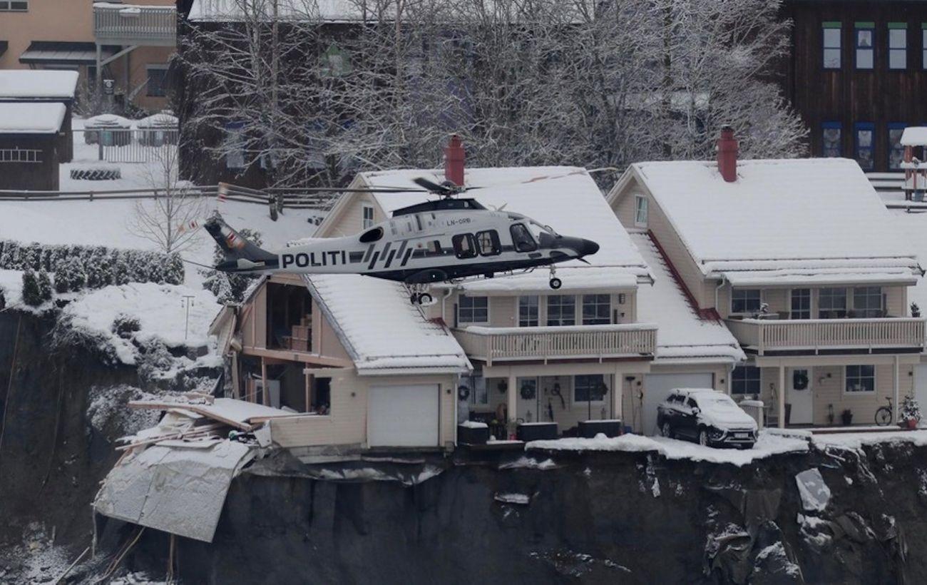 Оползень в Норвегии: спасатели нашли второе тело
