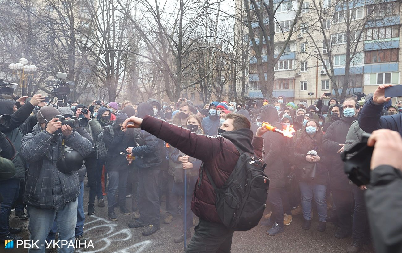 Протесты в Киеве закончились. В полиции рассказали, были ли нарушения