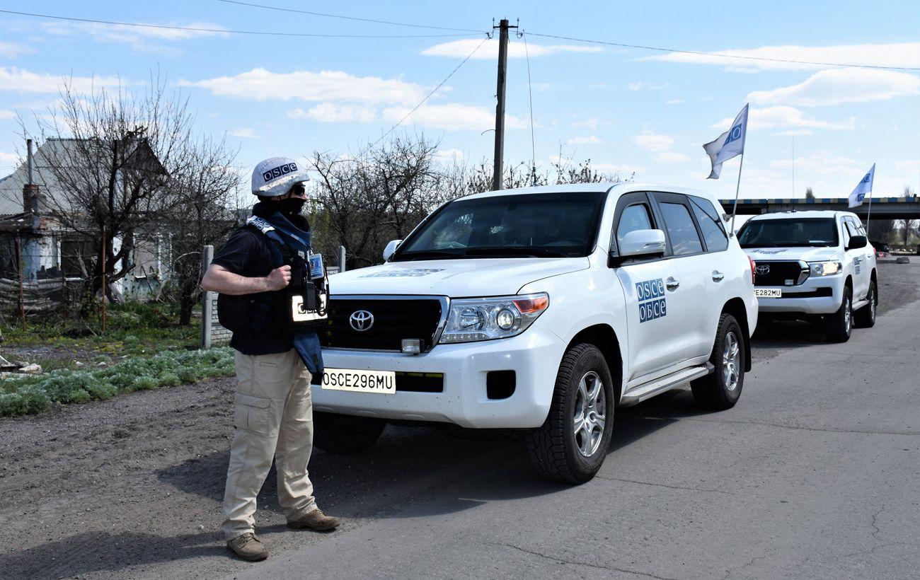 ОБСЕ зафиксировала более 100 нарушений на Донбассе за сутки