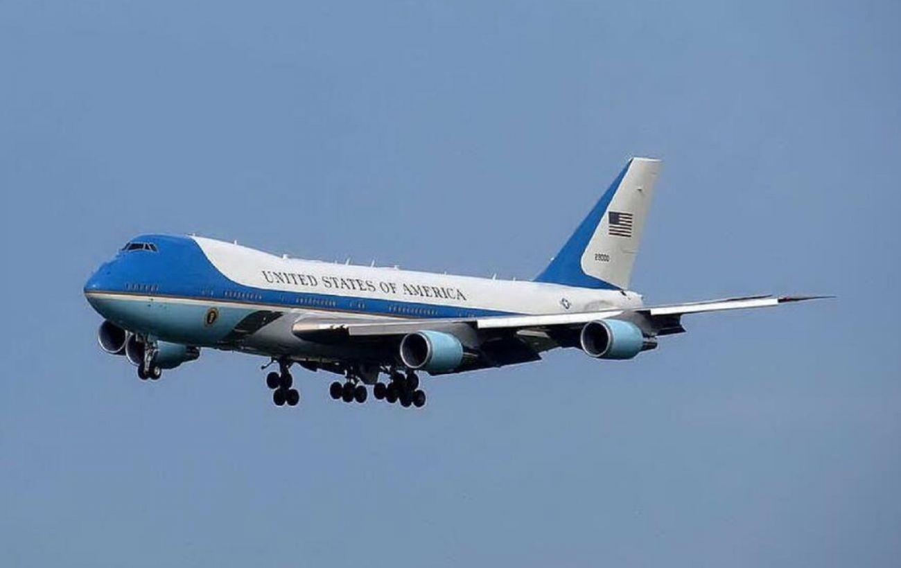 В США бездомный провел пять часов на авиабазе с президентским самолетом