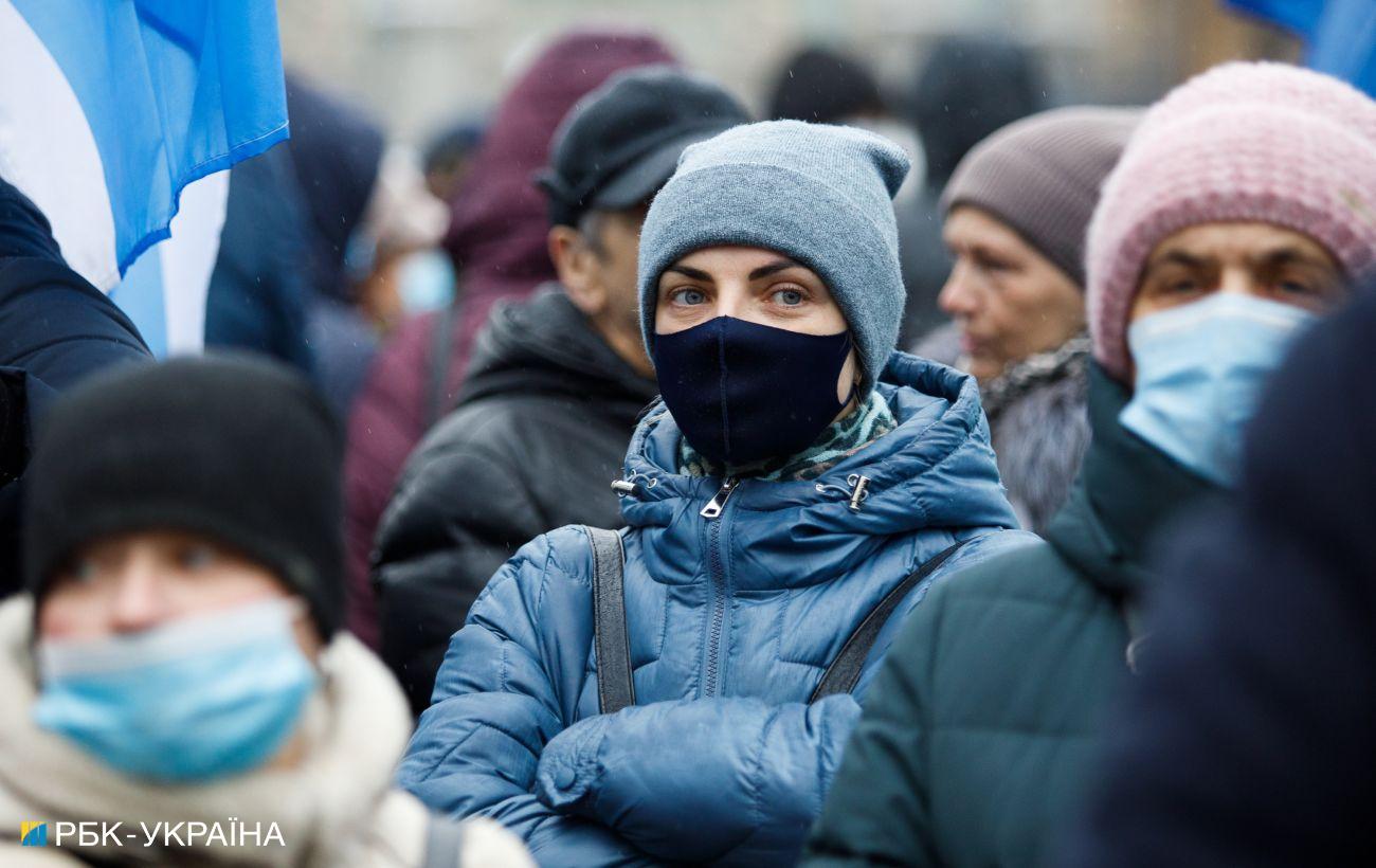 В Украине вновь обновили зоны карантина: