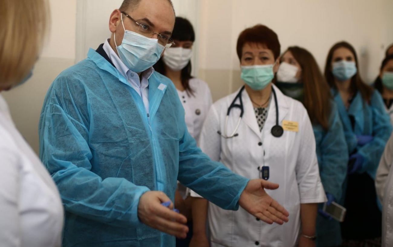 Степанов обещает минимальную зарплату для врачей от 23 тысяч гривен