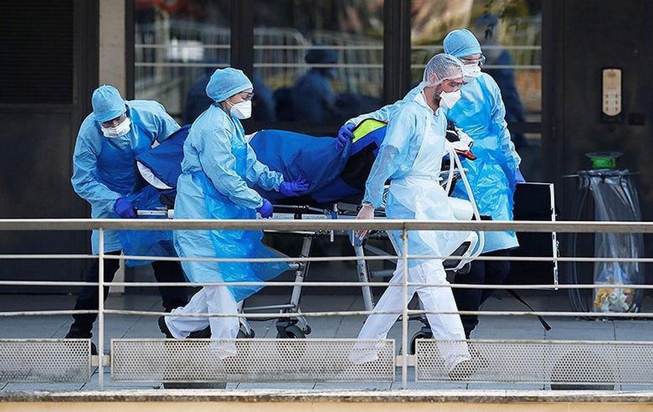 В больницах Франции увеличилось число больных с COVID-19