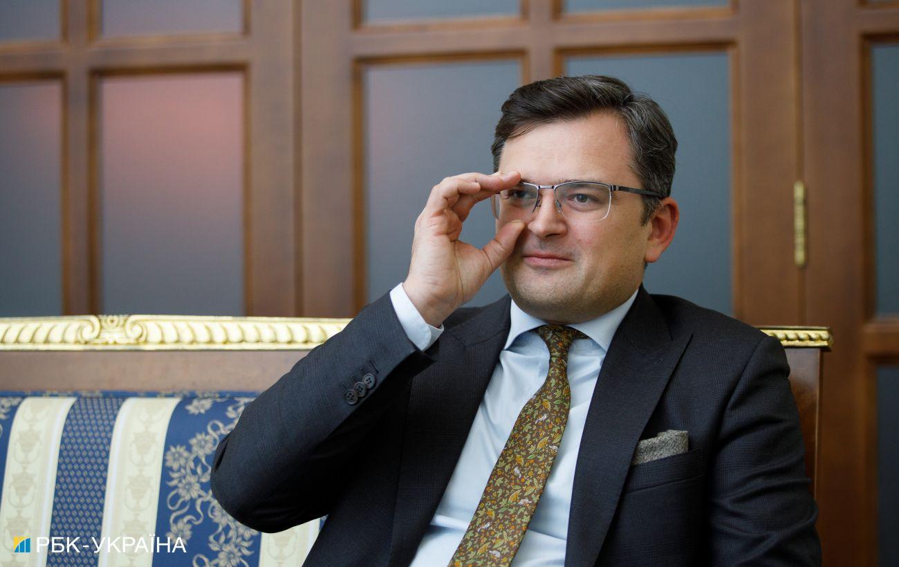 Кулеба: Украина не хочет войны, мы открываем огонь, только в случае угрозы