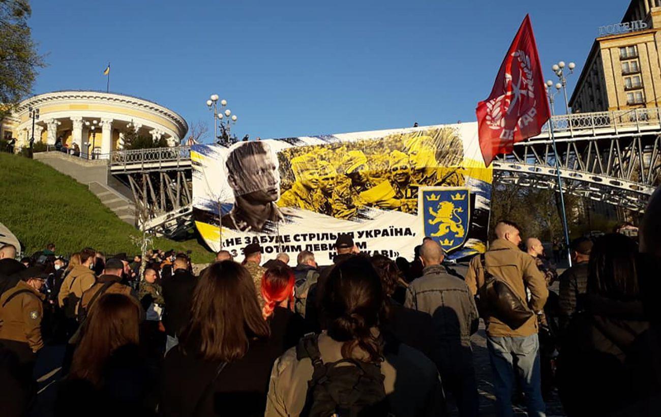 В Еврейской конфедерации осудили марш в Киеве в честь СС