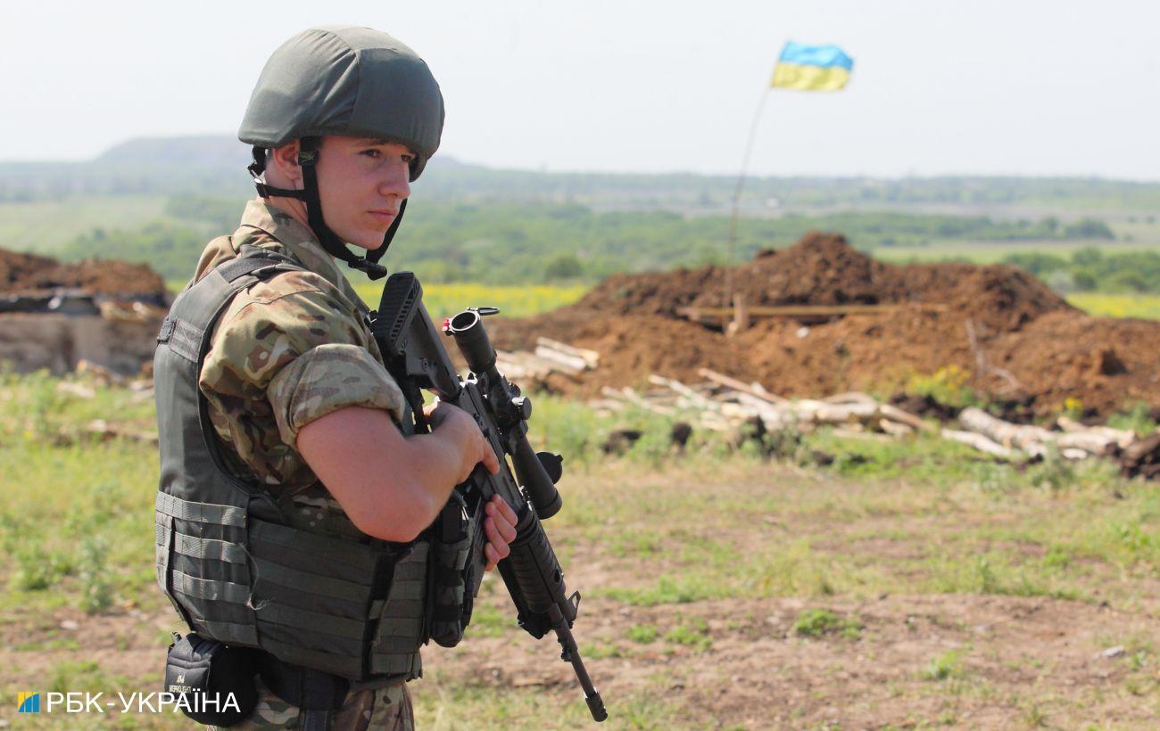 На Донбассе за день одно нарушение
