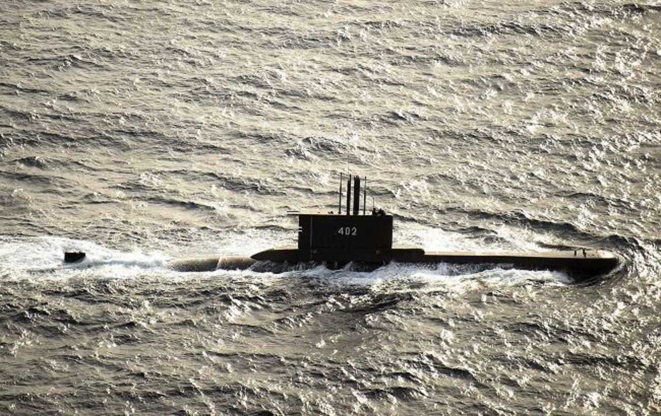 Пропавшую подлодку ВМС Индонезии обнаружили в водах вблизи Бали